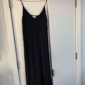 Wilfred free black slip dress